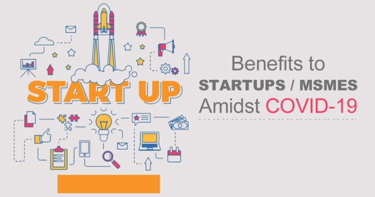 Benefits for Startups and MSMEs