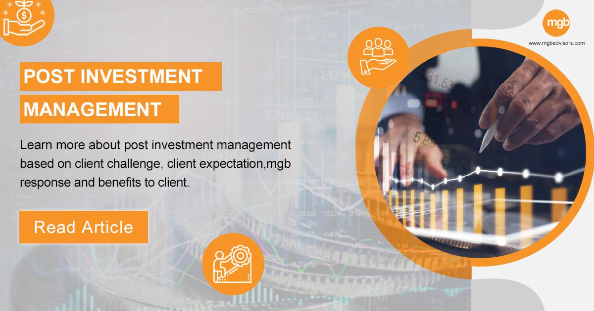 Post Investment Management