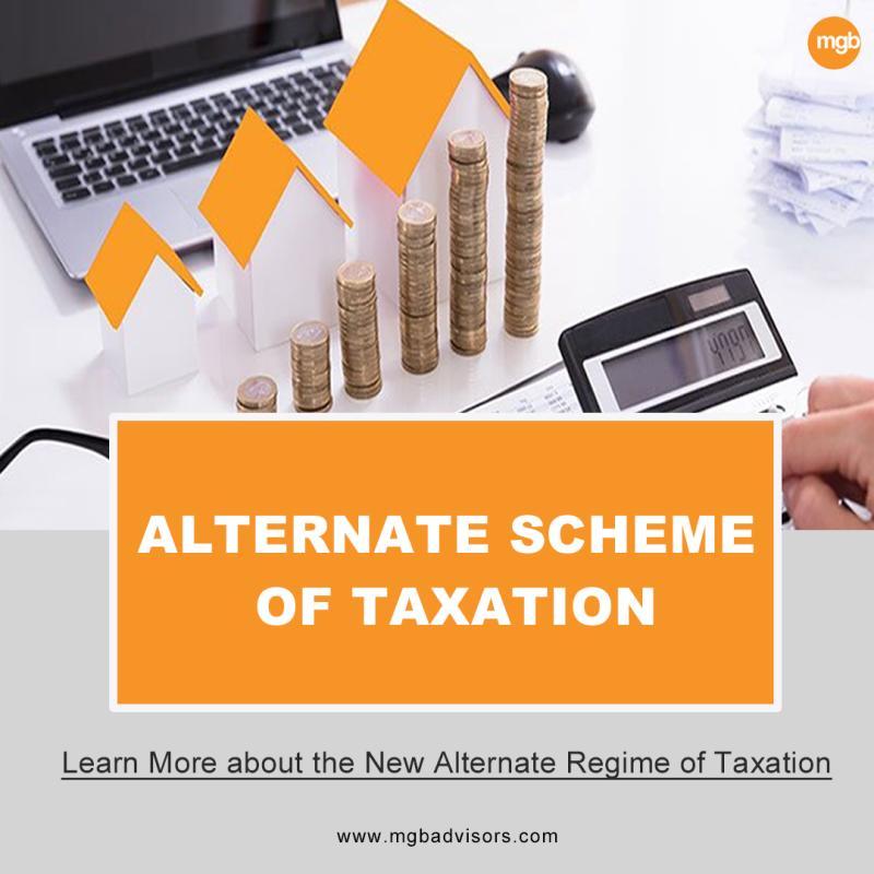 Alternate Scheme of Taxation
